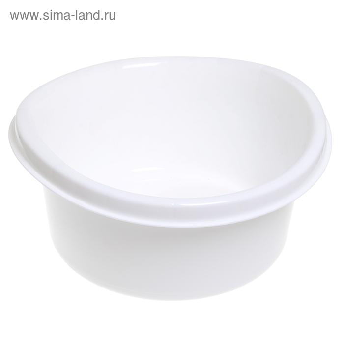 """Таз пластиковый 12 л """"Ориджинал"""", цвет белый"""