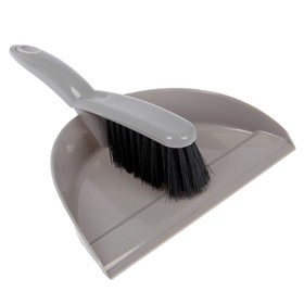 Набор для уборки «Клио»: совок и щетка-сметка, цвет МИКС