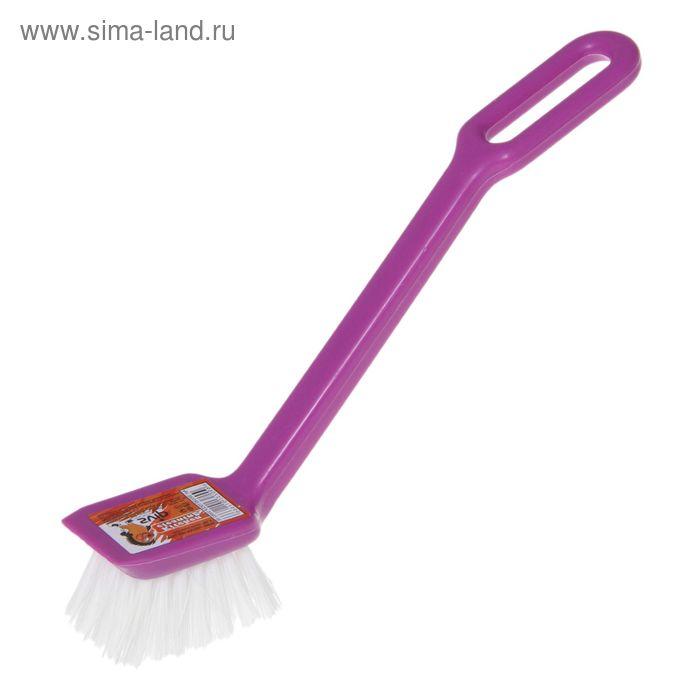 "Щётка для посуды ""Мила"", цвет аметист"