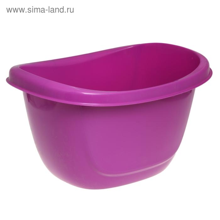 """Таз пластиковый 16 л """"Ориджинал"""", цвет аметист"""