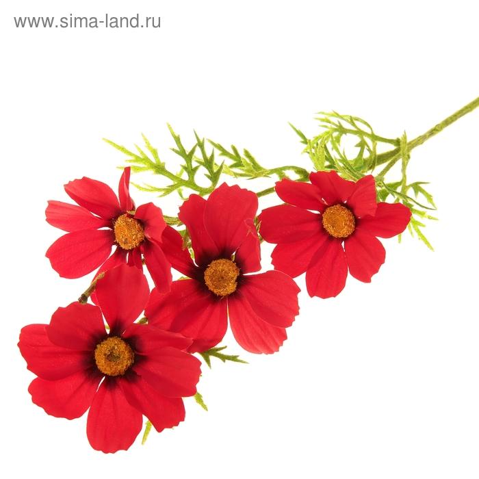 """Цветы искусственные """"Красные космеи"""""""