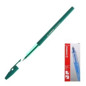 Ручка шариковая Stabilo Liner 808 0.5 мм стержень зелёный Ош