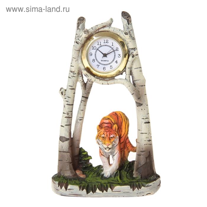 """Часы настольные """"Крадущийся тигр"""""""