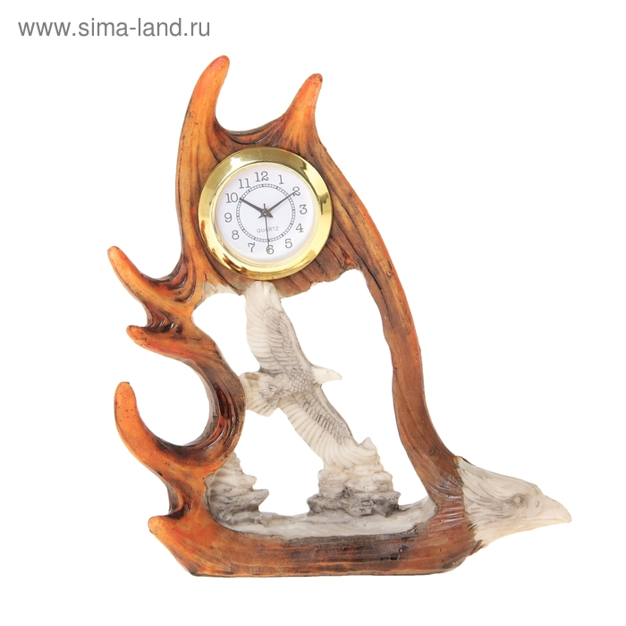 """Часы настольные """"Орёл в полёте"""""""