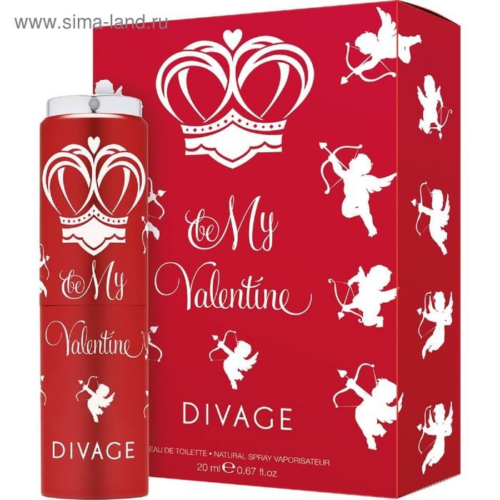 Туалетная вода Divage Princess D Be My Valentine, 20 мл