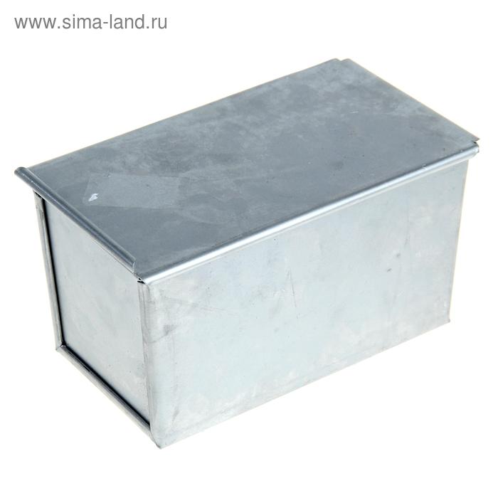 """Форма для хлеба алюминиевая """"Кормилица"""" 21х10х11 см"""