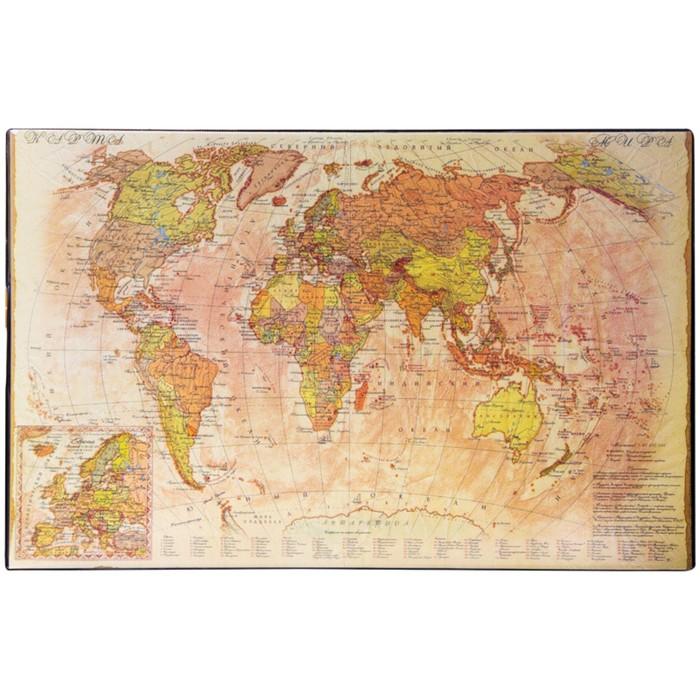 """Подкладка для письма """"Карта ретро"""" 38*59см"""