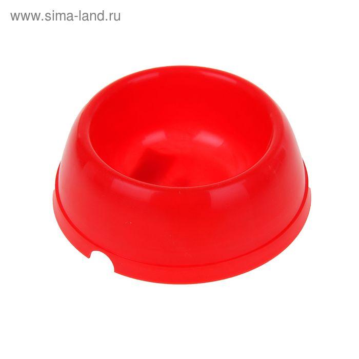 Миска пластиковая, 250 мл  МИКС ЦВЕТОВ