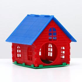 Домик для хомяка одноэтажный с основанием