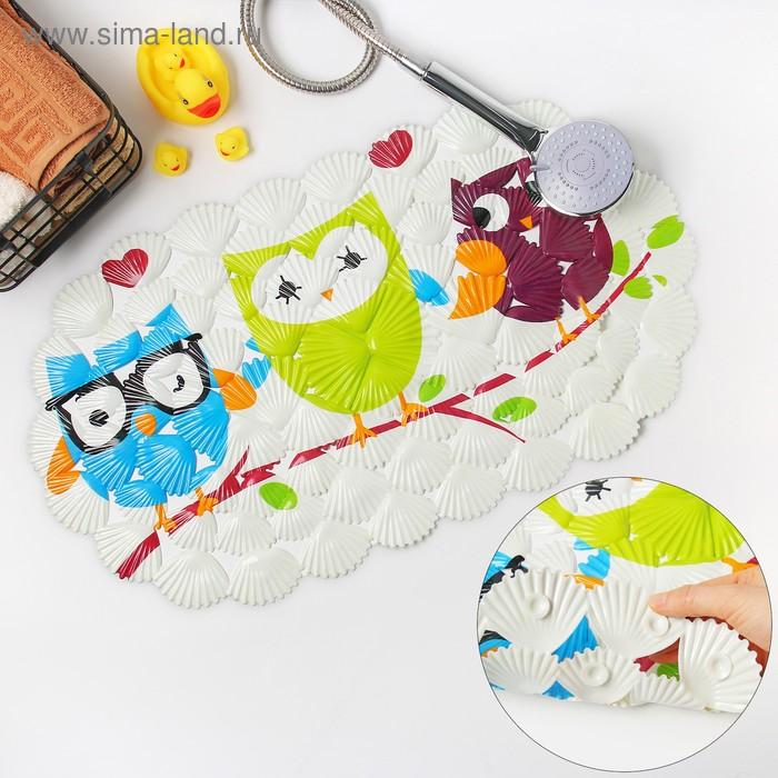 "SPA bath Mat ""Owls"""