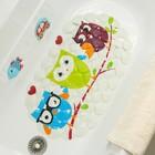 Коврик для ванны «Совы», 37×67 см в наличии - фото 101365138