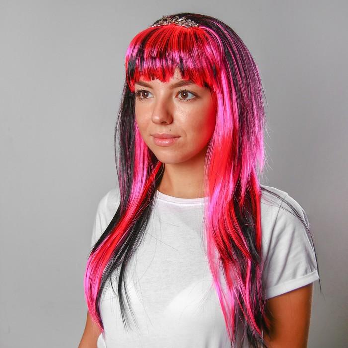Карнавальный парик с заколкой, 120 г