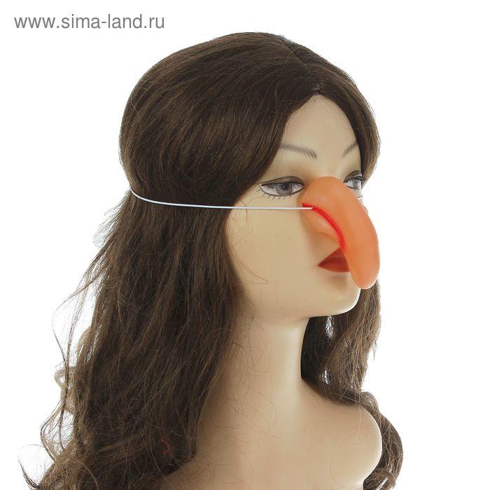 Нос на резинке горбатый