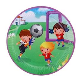 Тарелка с ламинацией 'Футбол', 23 см Ош