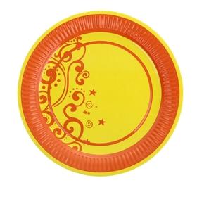 Тарелка с ламинацией 'Оранж', 23 см Ош