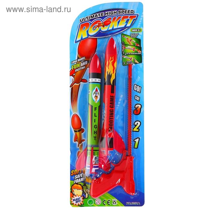 """Игрушка с запуском """"Ракета"""""""
