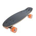 Скейтборд S711, PU d= 57*45 мм, алюминиевая рама, цвета микс