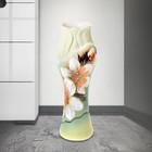 """Ваза """"Азалия"""" нарцисс, зелёная, 32 см, микс - фото 1702701"""