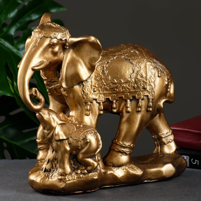 "Сувенир ""Слон со слоненком"""