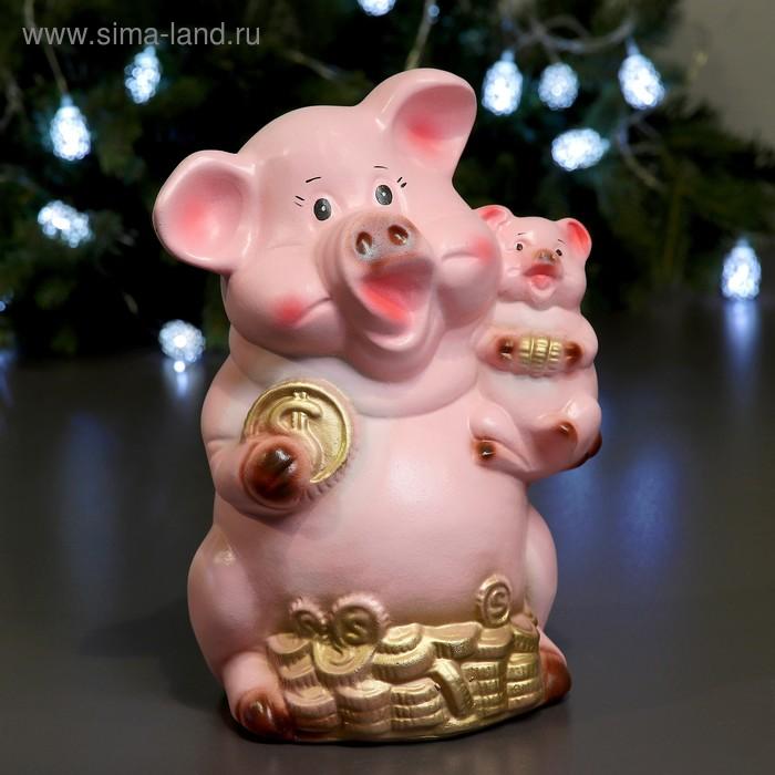 "Копилка ""Свинка с поросёнком"""