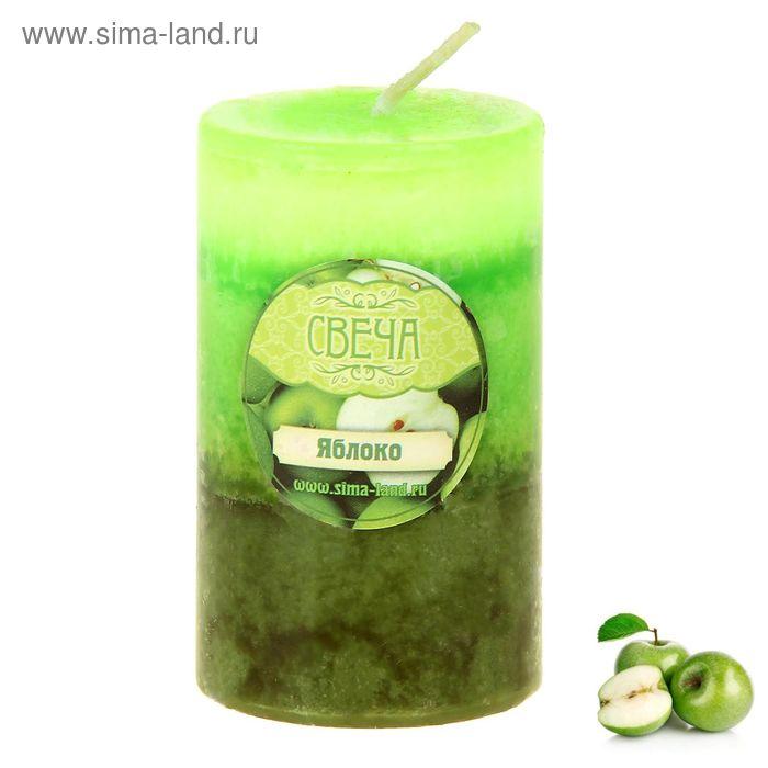 """Свеча восковая """"Соцветие"""", аромат яблоко"""