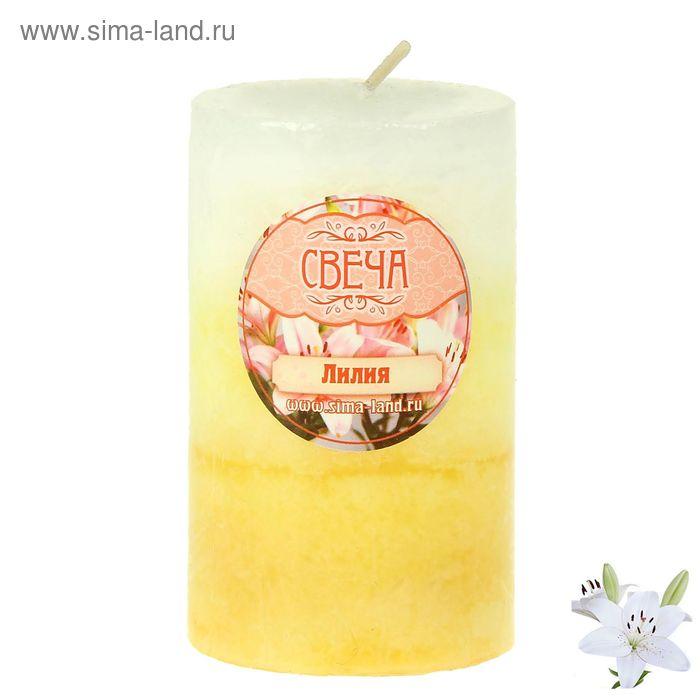 """Свеча восковая """"Соцветие"""", аромат лилия"""