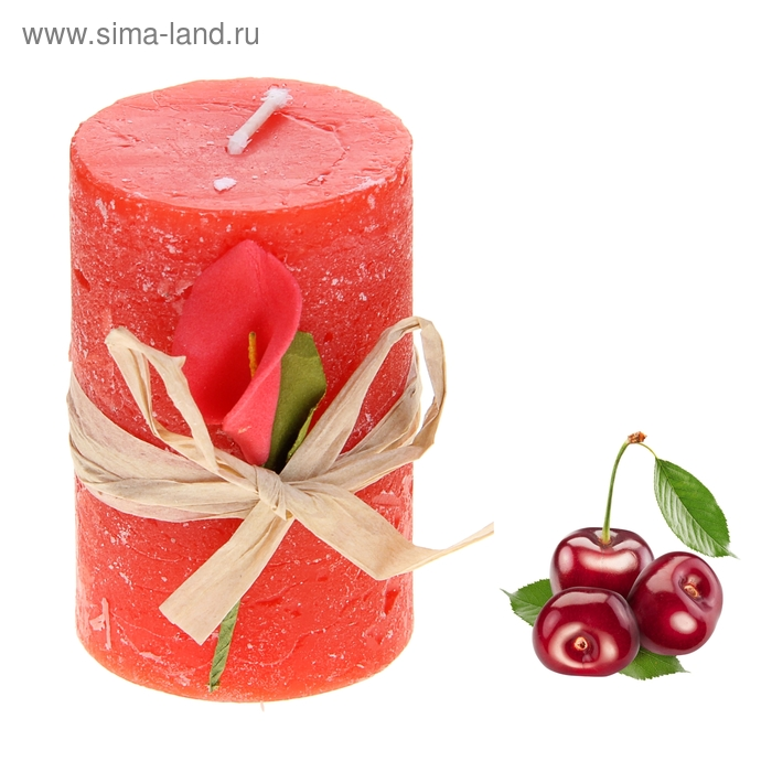 """Свеча восковая """"Иней"""", аромат вишня"""