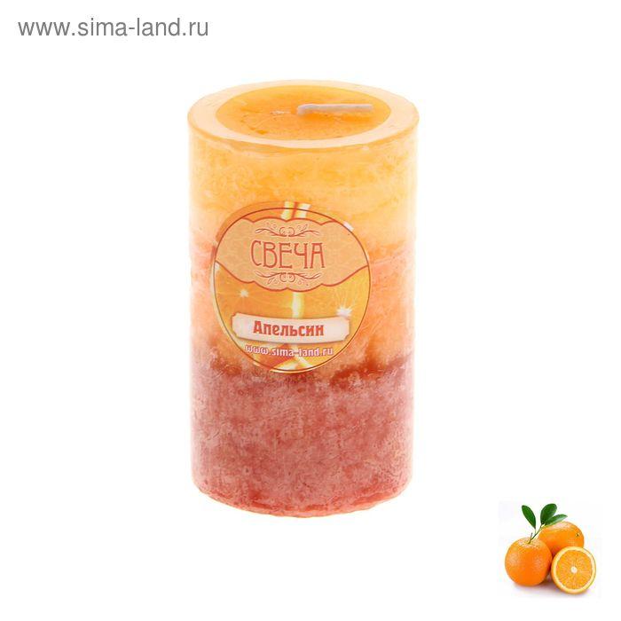 """Свеча восковая """"Соцветие"""", аромат апельсин"""