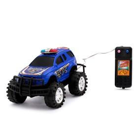 Машина «Полиция», на дистанционном управлении, цвета МИКС