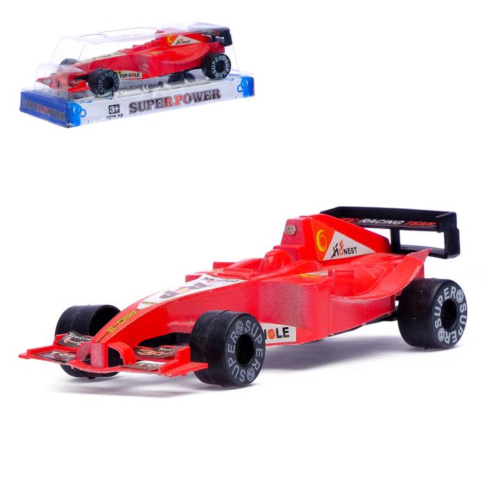 Машина инерционная «Формула», световые и звуковые эффекты, цвета МИКС