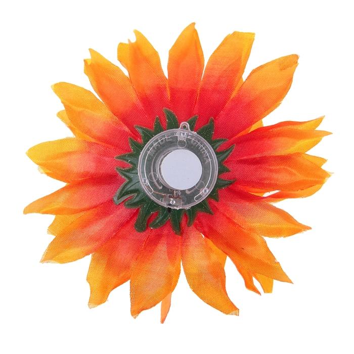 Цветок световой «Астра», переливается разными цветами, цвета МИКС