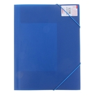 Папка на резинке А4 Proff. Standard непрозрачная синяя 0,45мм