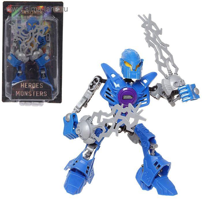 """Робот-конструктор """"Монстр Gromer"""", 19 деталей"""