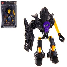 Робот-конструктор «Монстр Fantom», 17 деталей