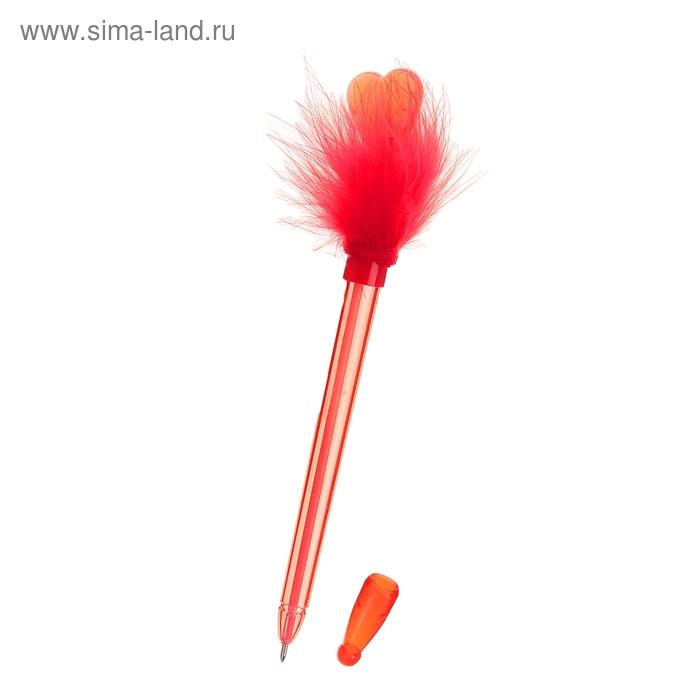 """Ручка с подсветкой """"Сердце"""" на пружинке"""