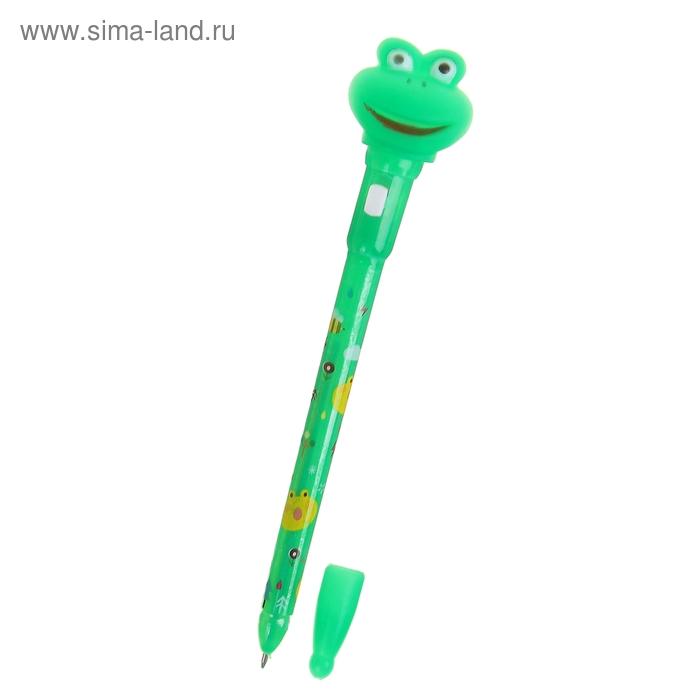 """Ручка с подсветкой """"Лягушка"""""""