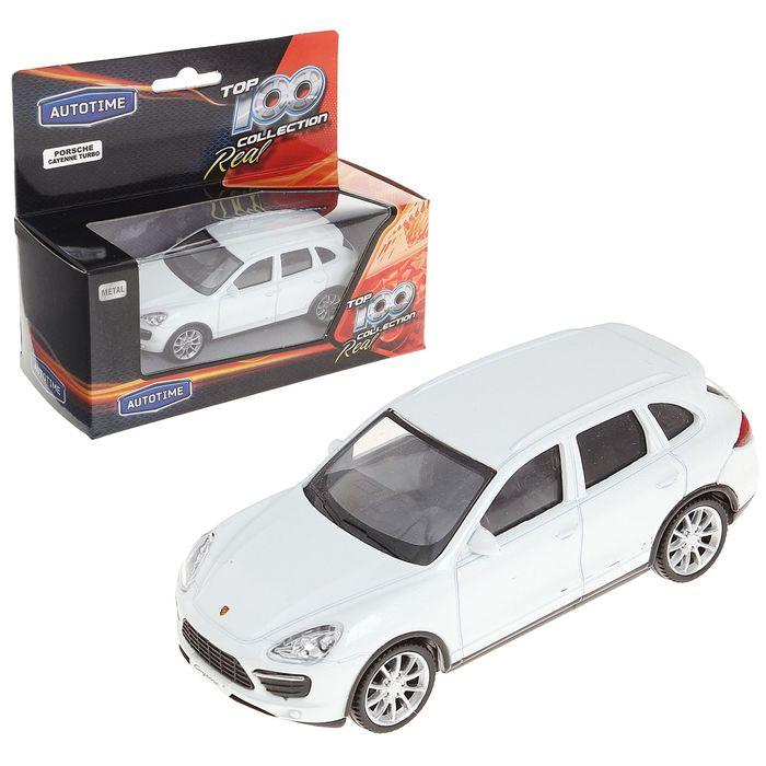 "Машина металлическая ""Porsche Cayenne Turbo"", масштаб 1:43 МИКС"