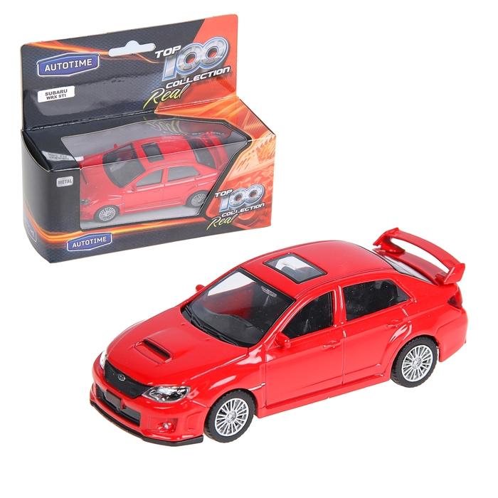 "Модель машины ""Subaru Wrx Sti"" 1:43, МИКС"