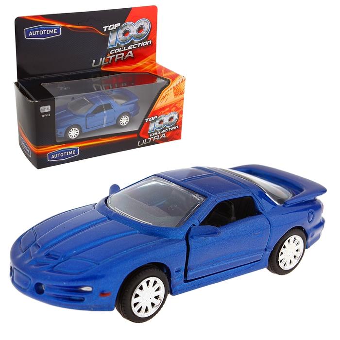 """Модель машины 1:43 """"Pontiac Firebird 1999"""""""