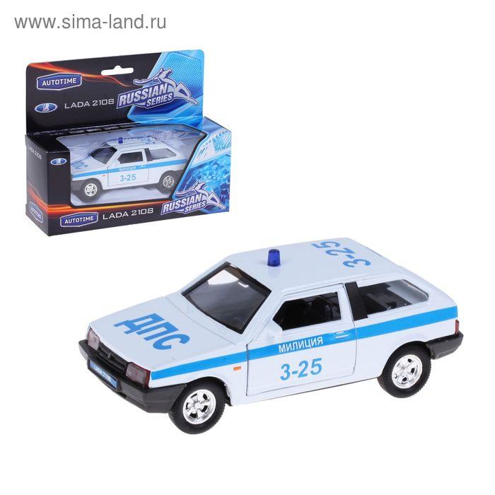 """Модель машины милиция 1:36 """"Lada2108"""""""