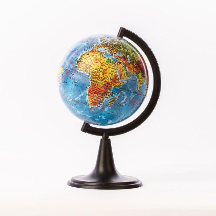 Глобус физический «Классик», диаметр 120 мм