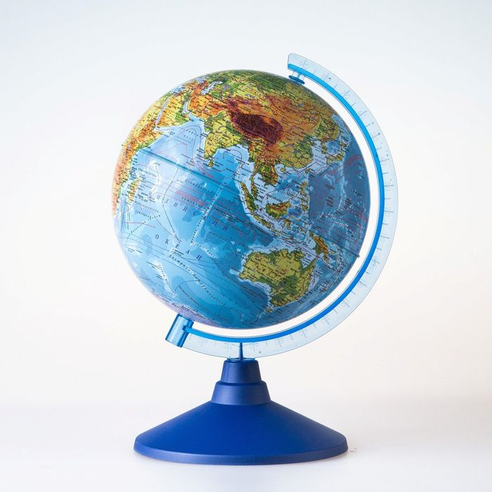 Глобус физический «Классик Евро», диаметр 150 мм
