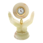 Часы Ладони  оникс