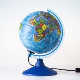 Глобус политический «Классик Евро», диаметр 150 мм, с подсветкой в Донецке