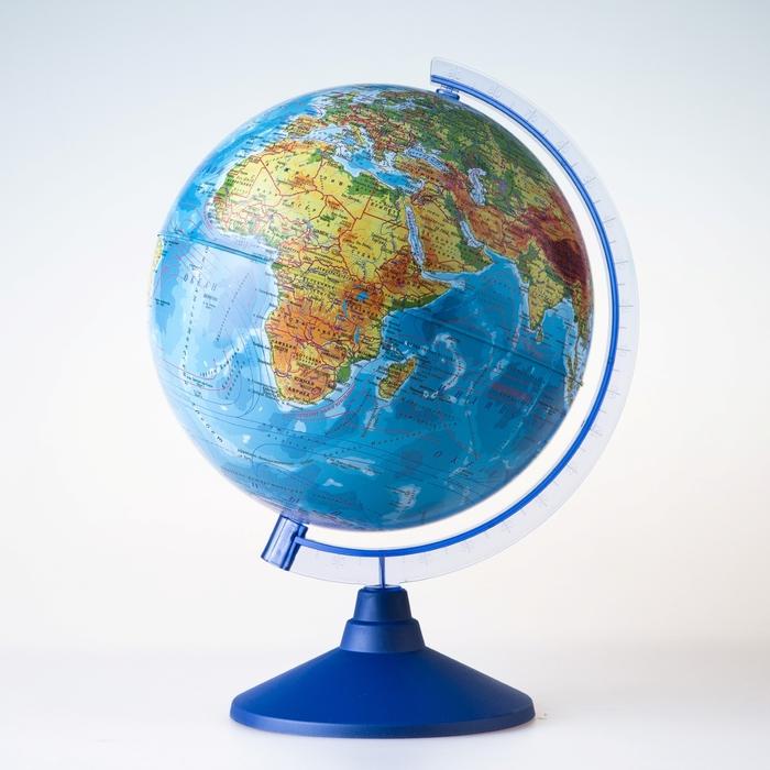 Глобус физический «Классик Евро», диаметр 250 мм