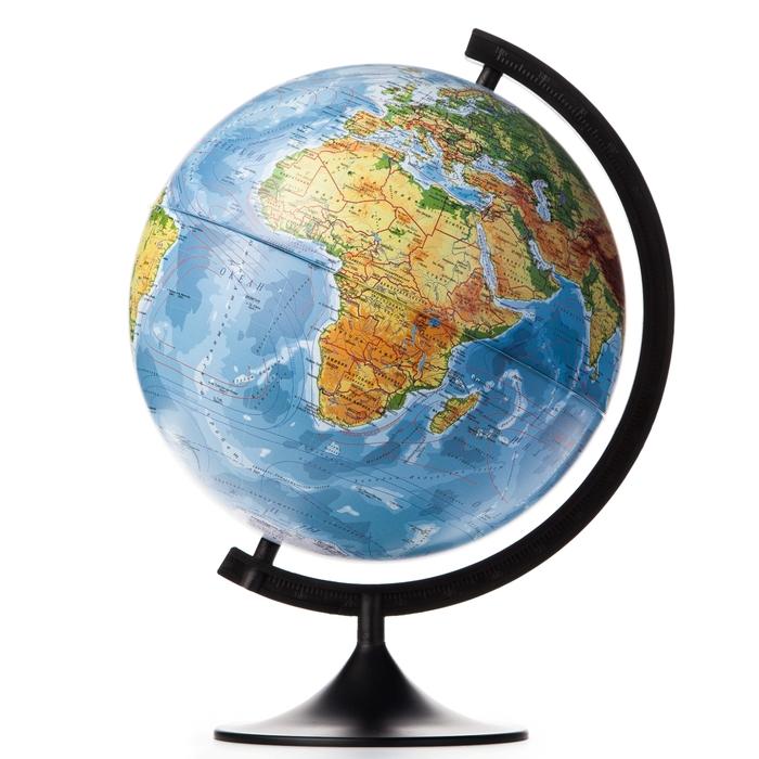 Глобус физический «Классик», диаметр 320 мм