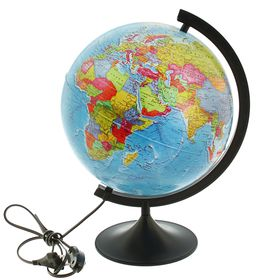 Глобус политический «Классик», диаметр 320 мм, с подсветкой