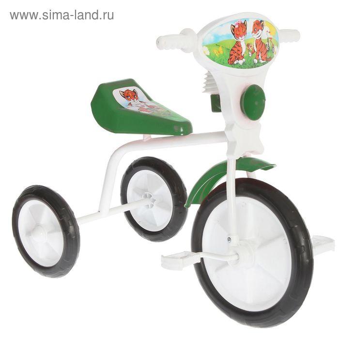 """Велосипед трехколесный """"Малыш"""", цвет: зеленый"""