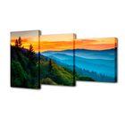 """Модульная картина на подрамнике """"Пейзаж"""", 26×50 см, 26×40 см, 26×32 см, 50×80 см"""