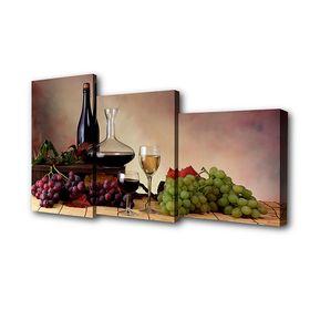 """Модульная картина на подрамнике """"Натюрморт"""", 26×50 см, 26×40 см, 26×32 см, 50×80 см"""
